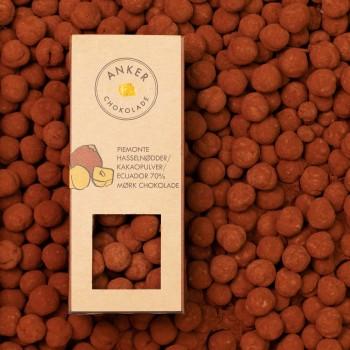 Piemonte hasselnøder / kakaopulver / Ecuador 70% mørk chokolade